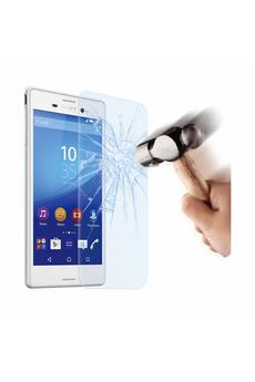 Protection d'écran pour smartphone FILM DE PROTECTION EN VERRE TREMPE POUR XPERIA M4 AQUA Muvit