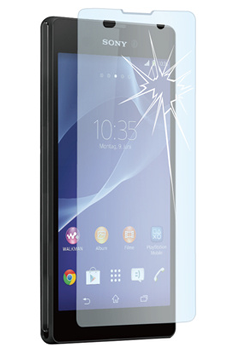 Protection d'écran pour smartphone PROTECTION D'ECRAN EN VERRE TREMPE POUR SONY XPERIA T3 Muvit