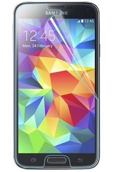 Protection d'écran pour smartphone PROTECTION D'ECRAN VERRE TREMPE POUR GALAXY S5 MINI Muvit