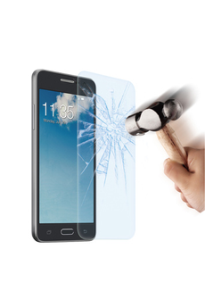 Protection d'écran pour smartphone Film de protection verre trempé Galaxy Grand Prime Muvit