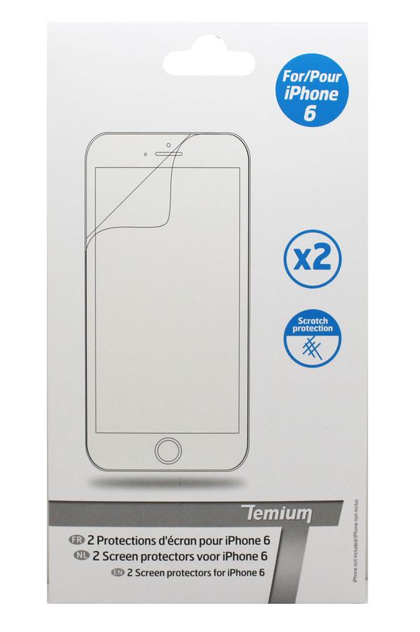 protection cran smartphone temium screen protector pour iphone 6 screen protector 4035020. Black Bedroom Furniture Sets. Home Design Ideas