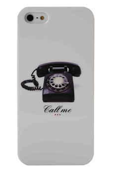 Housse pour iPhone Coque Call Me pour Iphone 5/5s Akashi
