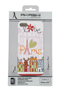 "Akashi Coque ""Love Paris"" pour iPhone 5/5s"