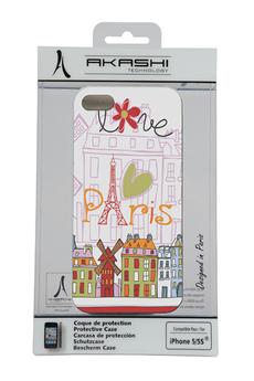 """Housse pour iPhone Coque """"Love Paris"""" pour iPhone 5/5s Akashi"""