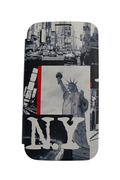Akashi FOLIO NEW YORK CITY POUR GALAXY S4 MINI
