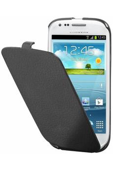 Housse et étui pour téléphone mobile ETUI POUR GALAXY S3 MINI NOIR Anymode
