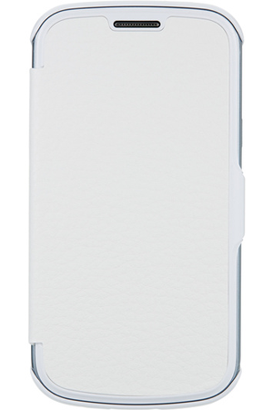 Coque smartphone anymode etui folio blanc pour samsung - Coque samsung galaxy trend lite blanc ...
