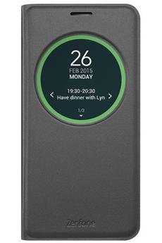 Housse et étui pour téléphone mobile ETUI VIEW FLIP COVER NOIR POUR ASUS ZENFONE MAX ZC550 KL Asus