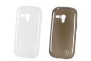 Housse et étui pour téléphone mobile Belkin PACK 2 ETUIS GALAXY S3 MINI