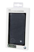 Housse et étui pour téléphone mobile Bmw FOLIO BMW BLEU GALAXY S4