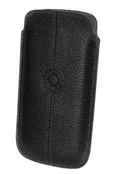 Housse et étui pour téléphone mobile ETUI POUCH XL NOIR Faconnable