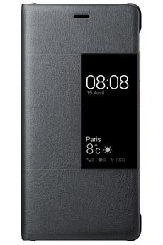 Housse et étui pour téléphone mobile ETUI VIEW FLIP CASE BLANC POUR HUAWEI P9 Huawei