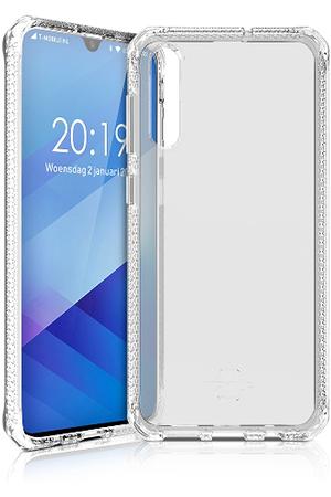 Coque transparente anti-choc pour smartphone samsung A50