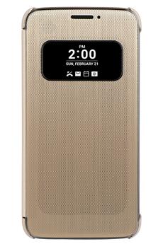 Housse et étui pour téléphone mobile ETUI QUICK COVER OR POUR LG G5 Lg