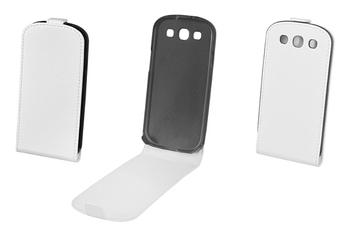 Housse et étui pour téléphone mobile ETUI FLIP GALAXY S3 Muvit