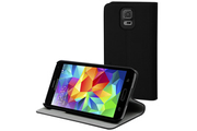 Muvit Etui folio Slim Noir pour Galaxy S5