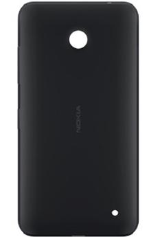 Housse et étui pour téléphone mobile COQUE NOIR pour Lumia 635 Nokia