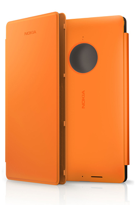 Protégez votre NOKIA LUMIA 830 des chocs et des rayures avec cet étui à rabat orange NOKIA CP627 spécialement conçu pour votre smartphone.