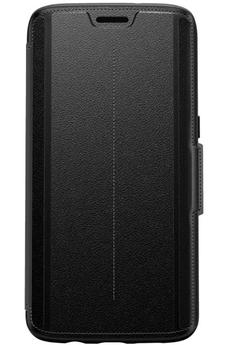 Housse et étui pour téléphone mobile ETUI FOLIO STRADA ONYX POUR SAMSUNG GALAXY S7 EDGE Otterbox