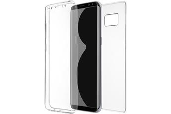 Housse et étui pour téléphone mobile COQUE DE PROTECTION TRANSPARENTE FUSION S POUR SAMSUNG GALAXY S8 Qdos
