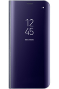 Housse et étui pour téléphone mobile Samsung ETUI CLEAR VIEW COVER LAVANDE POUR SAMSUNG GALAXY S8