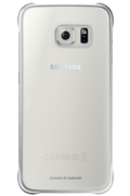 Samsung COQUE DE PROTECTION TRANSPARENTE ARGENT POUR GALAXY S6