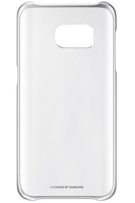 Housse et étui pour téléphone mobile Samsung COQUE CLEAR COVER ARGENT POUR SAMSUNG GALAXY S7