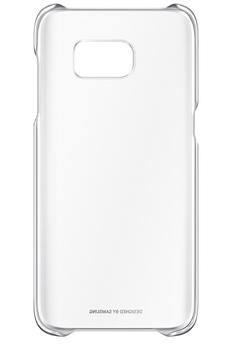 Housse et étui pour téléphone mobile COQUE CLEAR COVER ARGENT POUR SAMSUNG GALAXY S7 EDGE Samsung