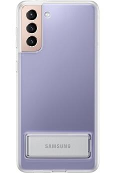 Coque smartphone Samsung Coque Clear Standing Transparente S21+