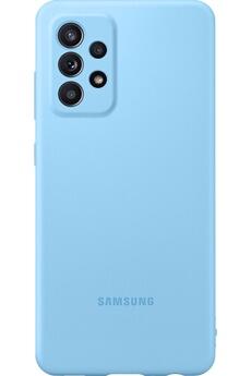 Coque smartphone Samsung COQUE SILICONE POUR SAMSUNG GALAXY A52 4G/5G BLEUE