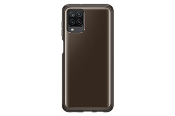Coque smartphone Samsung Coque Transparente Noir Galaxy A12s