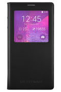 Samsung ETUI CLEAR COVER NOIR POUR SAMSUNG GALAXY NOTE 4