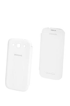 Housse et étui pour téléphone mobile ETUI BLANC GALAXY S3 Samsung