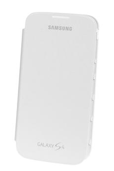 Housse et étui pour téléphone mobile ETUI FOLIO GALAXY S4 BLANC Samsung