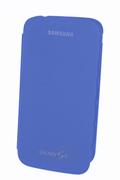 Housse et étui pour téléphone mobile Samsung ETUI FOLIO GALAXY S4 BLEU