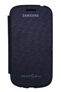 Housse et étui pour téléphone mobile Samsung ETUI GALAXY S3 MINI BLEU
