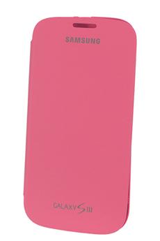Housse et étui pour téléphone mobile Samsung ETUI GALAXY S3 ROSE