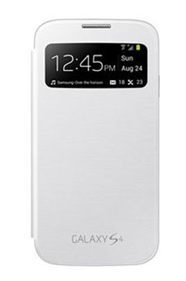 Housse et étui pour téléphone mobile ETUI GALAXY S4 BLANC Samsung
