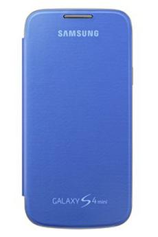Housse et étui pour téléphone mobile ETUI GALAXY S4 MINI BLEU Samsung