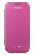 Housse et étui pour téléphone mobile Samsung ETUI GALAXY S4 MINI ROSE