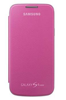 Housse et étui pour téléphone mobile ETUI GALAXY S4 MINI ROSE Samsung