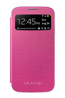 Housse et étui pour téléphone mobile ETUI GALAXY S4 ROSE Samsung