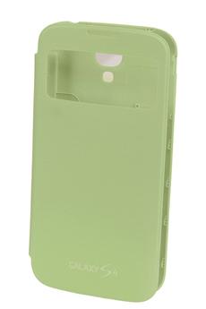 Housse et étui pour téléphone mobile ETUI GALAXY S4 VERT Samsung