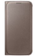 Samsung ETUI FLIP WALLET OR POUR GALAXY S6