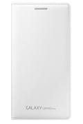 Samsung ETUI FLIP COVER BLANC POUR SAMSUNG GALAXY GRAND PRIME