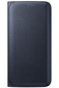 Samsung ETUI FLIP WALLET NOIR POUR GALAXY S6 Edge