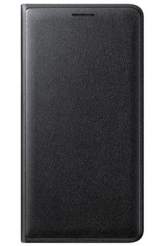 Housse et étui pour téléphone mobile ETUI FLIP WALLET NOIR POUR SAMSUNG GALAXY J3 Samsung
