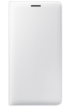 Housse et étui pour téléphone mobile ETUI FLIP WALLET BLANC POUR SAMSUNG GALAXY J3 Samsung