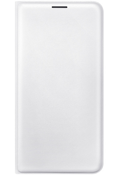 Housse et étui pour téléphone mobile ETUI FLIP WALLET BLANC POUR SAMSUNG GALAXY J7 2016 Samsung