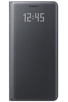Housse et étui pour téléphone mobile ETUI LED VIEW COVER NOIR POUR SAMSUNG GALAXY NOTE 7 Samsung
